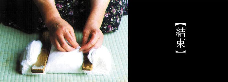 袋真綿の作り方