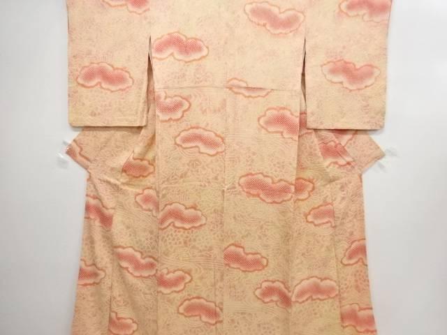 菖蒲柄の着物