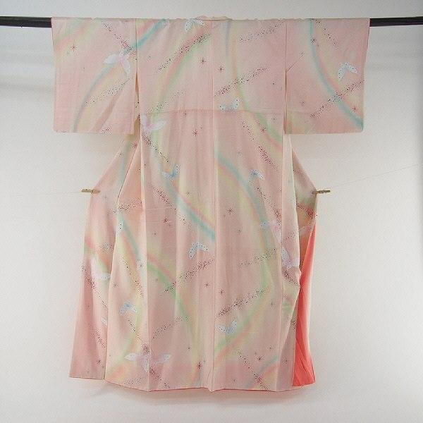 蝶柄の着物