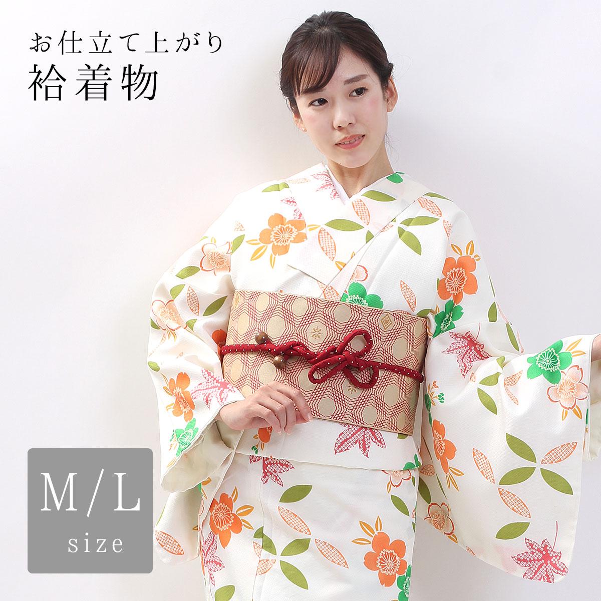桜柄の着物