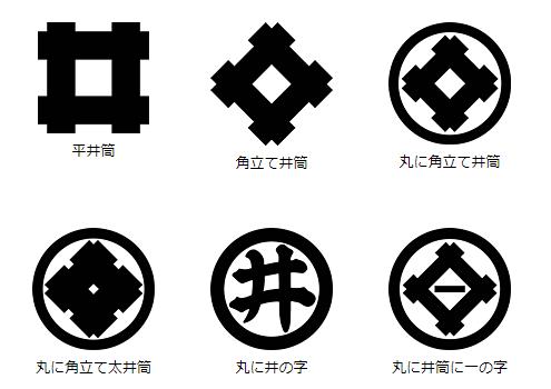 井筒・井桁紋