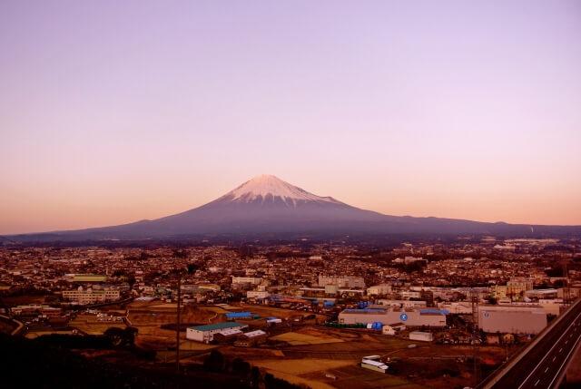 富士山と富士宮市