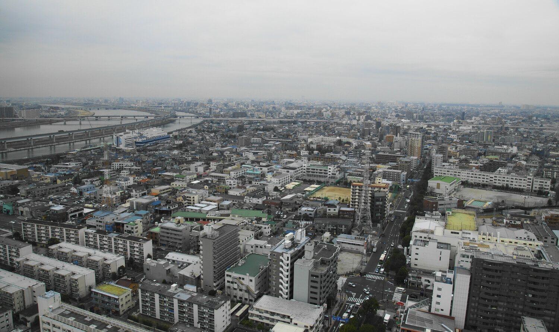 東京都江戸川区の町並み