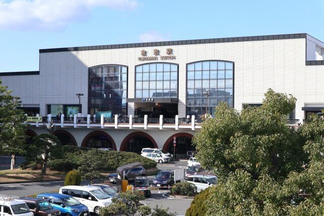 倉敷駅周辺の街並み