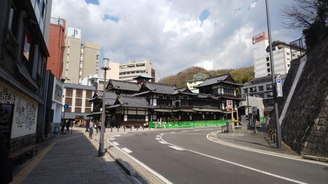 松山市の街並み