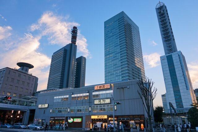 さいたま市浦和区の駅前