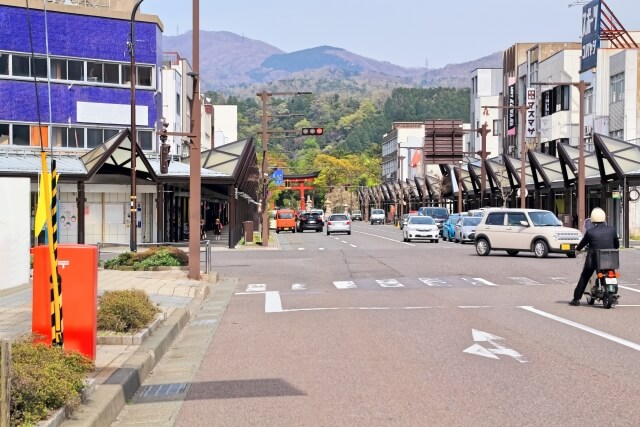 敦賀市の街並み