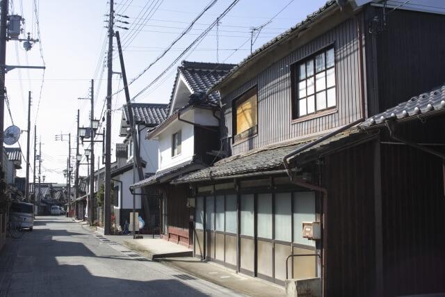 加古川市の街並み