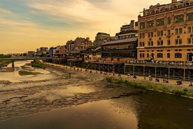 京都府の街並み