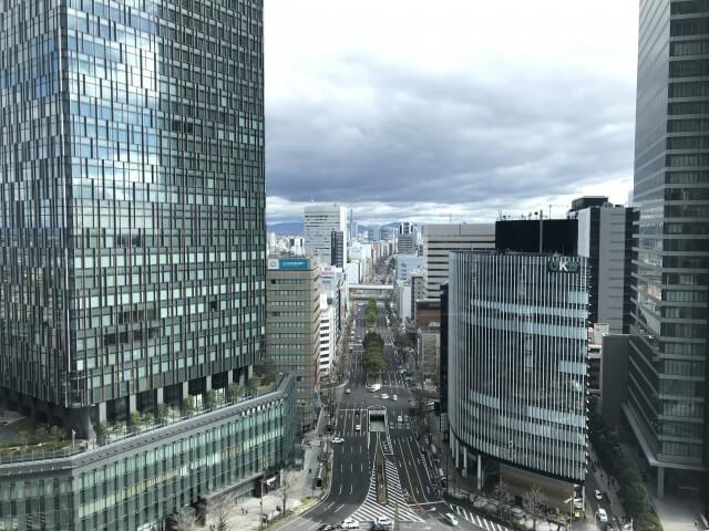 名古屋市の街並み