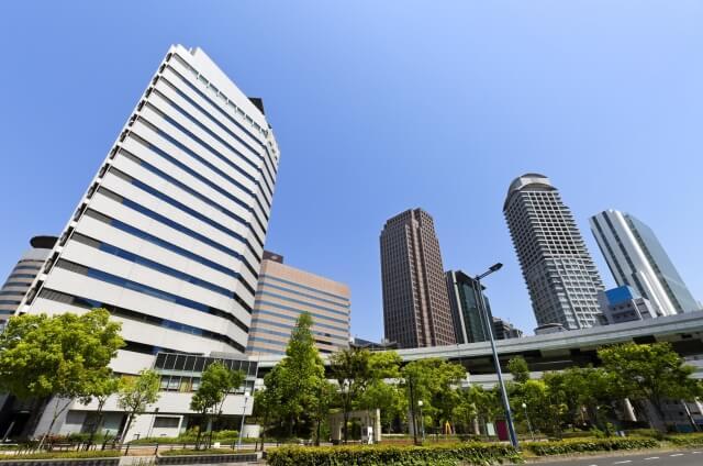 大阪府の街並み