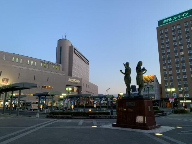弘前市の駅