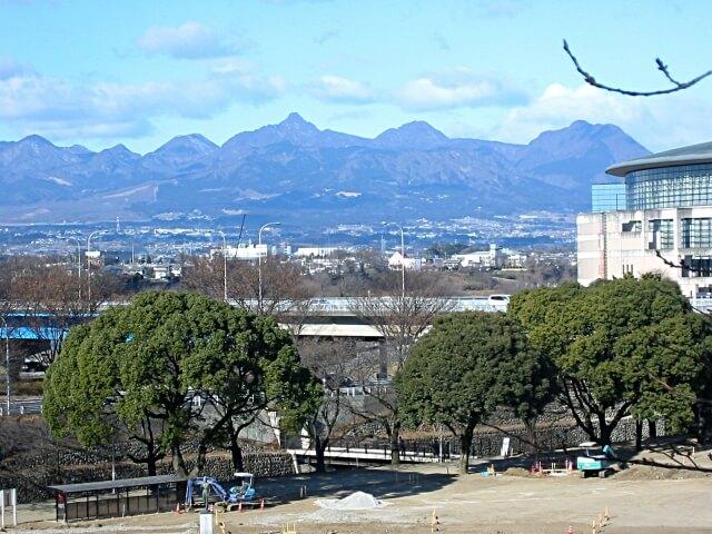 群馬県前橋市の公園