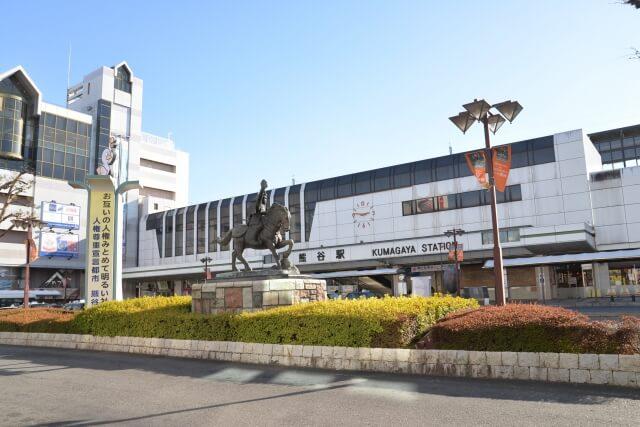 熊谷市にある駅